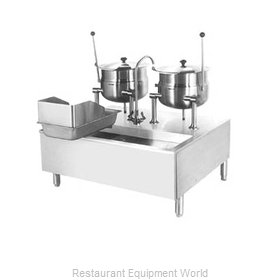 Cleveland Range SD1600K620 Kettle Cabinet Assembly, Direct-Steam