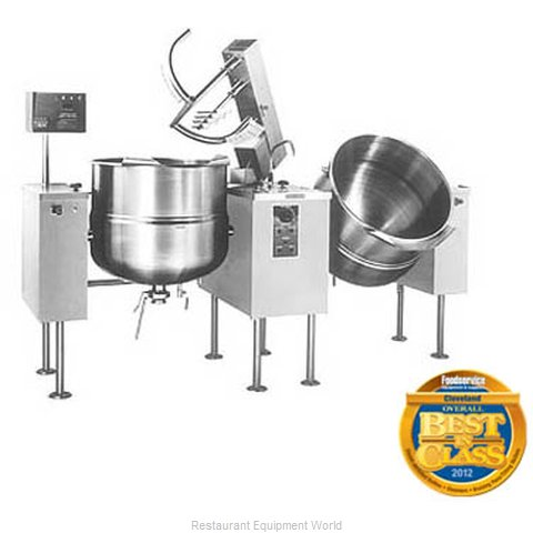 Cleveland Range TMKDL-125-T Kettle Mixer Twin Unit Direct (Magnified)