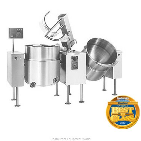 Cleveland Range TMKEL-100-T Kettle Mixer Twin Unit Electric