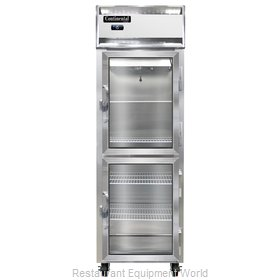 Continental Refrigerator 1F-LT-GD-HD Freezer, Low Temperature, Reach-In