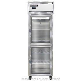 Continental Refrigerator 1F-LT-GD-HD Freezer, Low Temperature, Reach-In