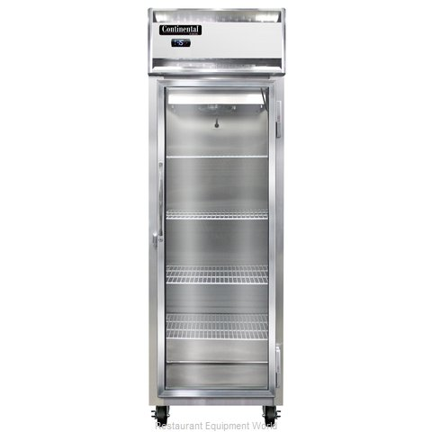 Continental Refrigerator 1F-LT-GD Freezer, Low Temperature, Reach-In