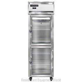 Continental Refrigerator 1F-LT-SA-GD-HD Freezer, Low Temperature, Reach-In
