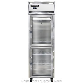 Continental Refrigerator 1F-LT-SS-GD-HD Freezer, Low Temperature, Reach-In