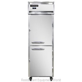 Continental Refrigerator 1F-LT-SS-HD Freezer, Low Temperature, Reach-In