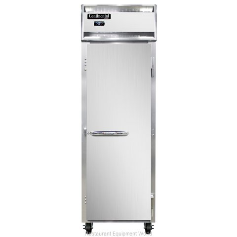 Continental Refrigerator 1F-LT-SS Freezer, Low Temperature, Reach-In