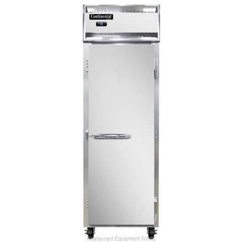 Continental Refrigerator 1F-LT Freezer, Low Temperature, Reach-In