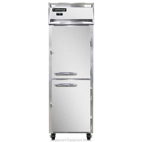 Continental Refrigerator 1F-PT-HD Freezer, Pass-Thru