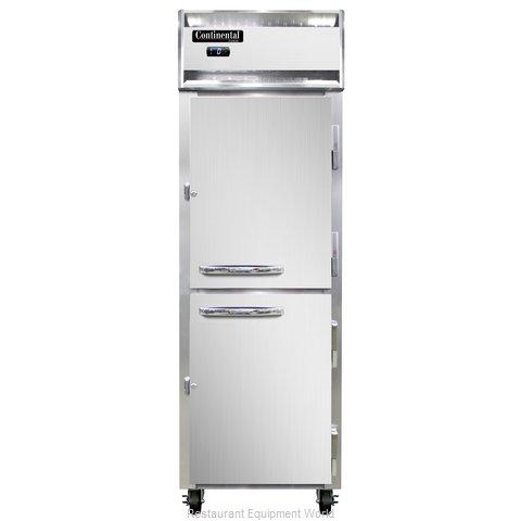 Continental Refrigerator 1F-SA-PT-HD Freezer, Pass-Thru