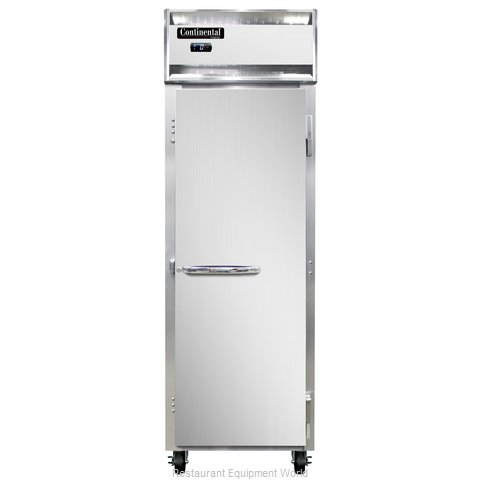 Continental Refrigerator 1F-SA Freezer, Reach-In