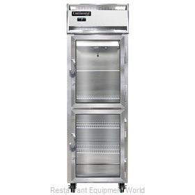 Continental Refrigerator 1F-SS-GD-HD Freezer, Reach-In