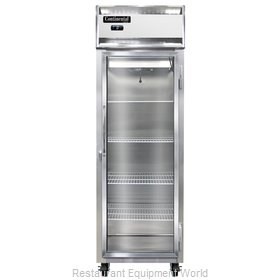 Continental Refrigerator 1F-SS-GD Freezer, Reach-In