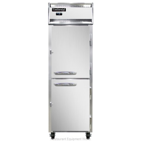 Continental Refrigerator 1F-SS-PT-HD Freezer, Pass-Thru