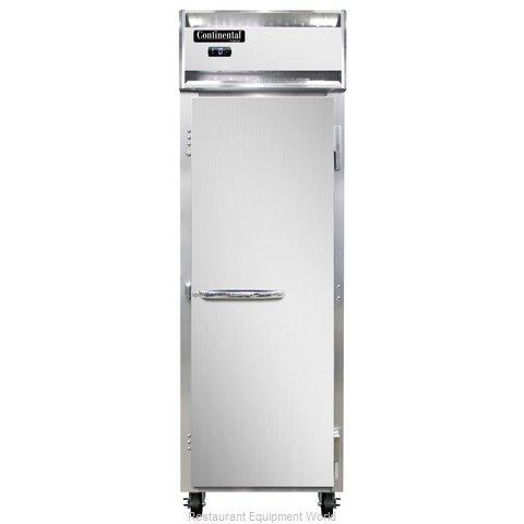 Continental Refrigerator 1F-SS-PT Freezer, Pass-Thru