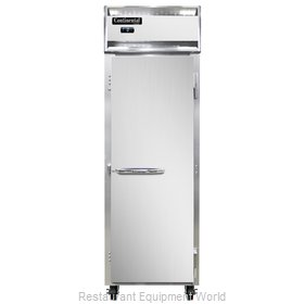 Continental Refrigerator 1F-SS Freezer, Reach-In