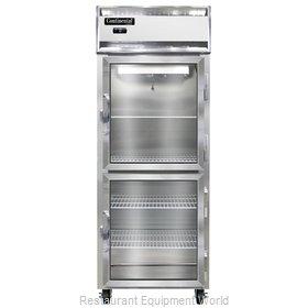 Continental Refrigerator 1FE-GD-HD Freezer, Reach-In