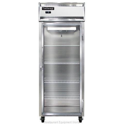 Continental Refrigerator 1FE-GD Freezer, Reach-In