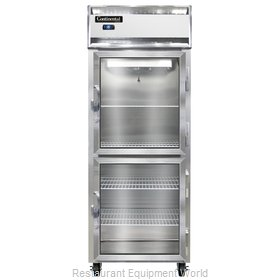 Continental Refrigerator 1FE-LT-GD-HD Freezer, Low Temperature, Reach-In