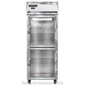 Continental Refrigerator 1FE-LT-GD-HD Freezer, Low Temperature, Reach-In