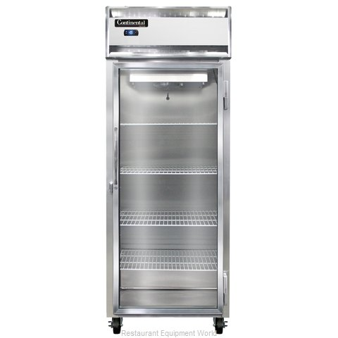 Continental Refrigerator 1FE-LT-GD Freezer, Low Temperature, Reach-In