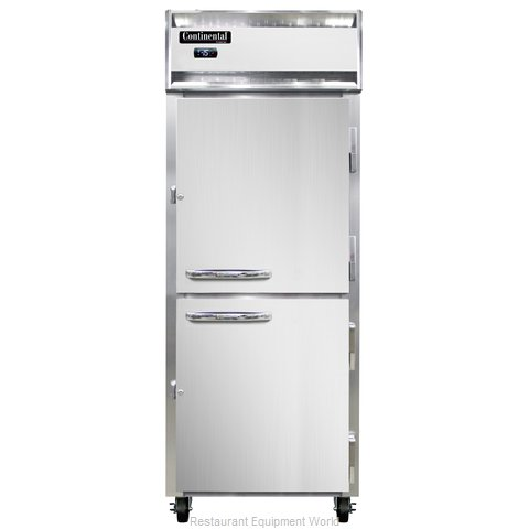 Continental Refrigerator 1FE-LT-HD Freezer, Low Temperature, Reach-In