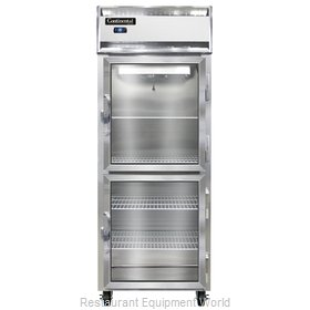 Continental Refrigerator 1FE-LT-SA-GD-HD Freezer, Low Temperature, Reach-In