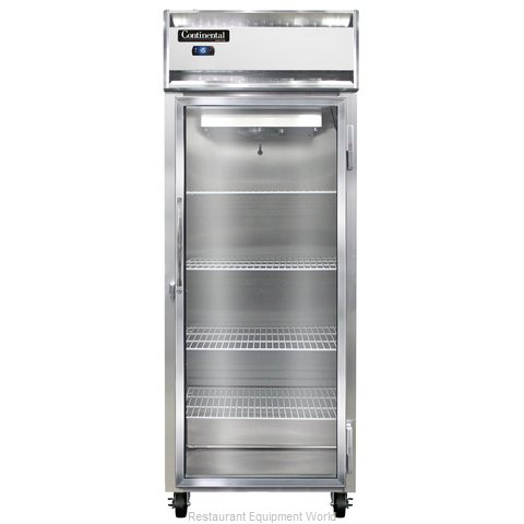 Continental Refrigerator 1FE-LT-SA-GD Freezer, Low Temperature, Reach-In