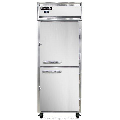Continental Refrigerator 1FE-LT-SS-HD Freezer, Reach-In