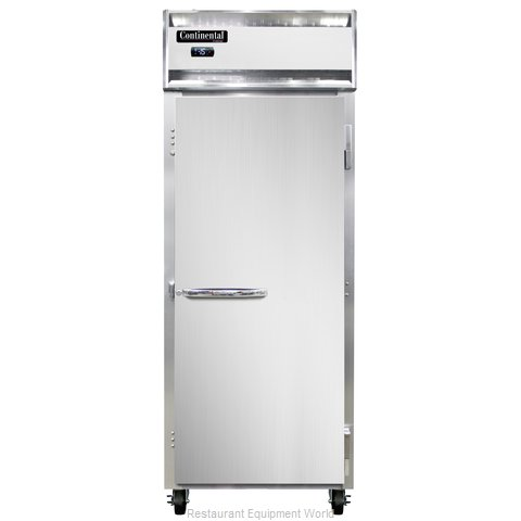 Continental Refrigerator 1FE-LT Freezer, Low Temperature, Reach-In