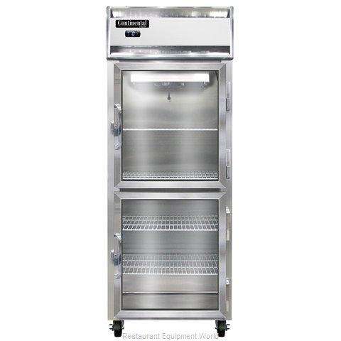 Continental Refrigerator 1FE-SA-GD-HD Freezer, Reach-In