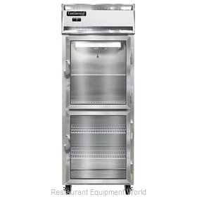 Continental Refrigerator 1FE-SS-GD-HD Freezer, Reach-In