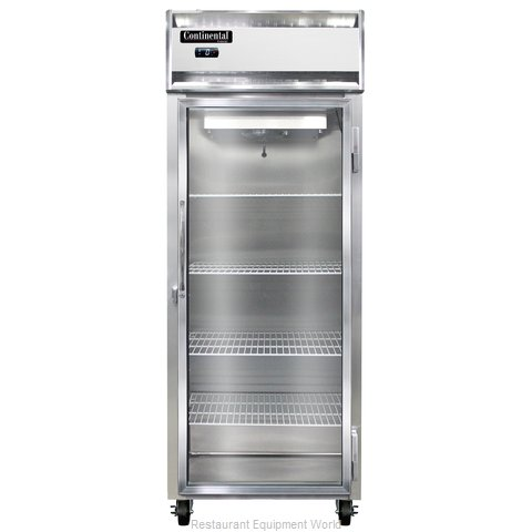 Continental Refrigerator 1FE-SS-GD Freezer, Reach-In