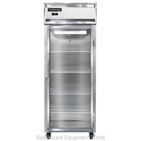 Continental Refrigerator 1FE-SS-GD Freezer, Reach-In