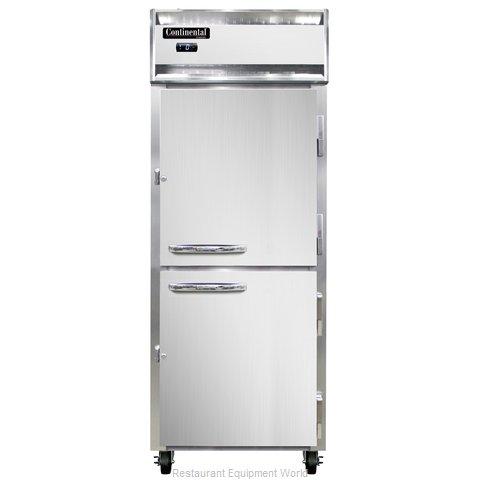 Continental Refrigerator 1FE-SS-PT-HD Freezer, Pass-Thru