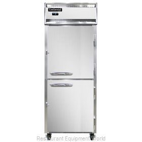Continental Refrigerator 1FE-SS-PT-HD Freezer, Pass-Thru