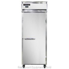 Continental Refrigerator 1FE-SS-PT Freezer, Pass-Thru