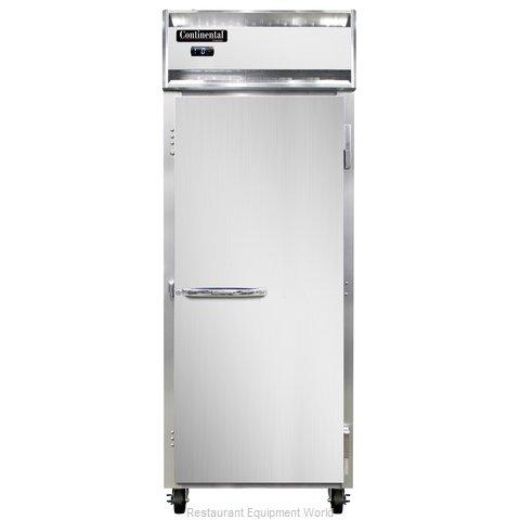 Continental Refrigerator 1FE-SS Freezer, Reach-In