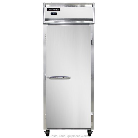 Continental Refrigerator 1FENSS Freezer, Reach-In