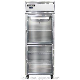 Continental Refrigerator 1FES-GD-HD Freezer, Reach-In