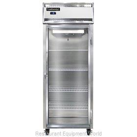 Continental Refrigerator 1FES-SA-GD Freezer, Reach-In