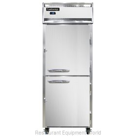 Continental Refrigerator 1FES-SS-HD Freezer, Reach-In
