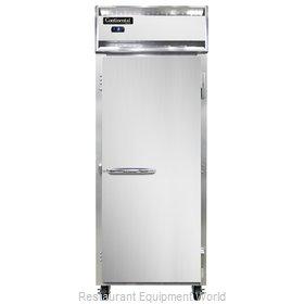 Continental Refrigerator 1FESN Freezer, Reach-In
