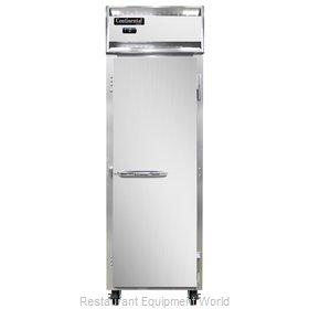Continental Refrigerator 1FNSA Freezer, Reach-In
