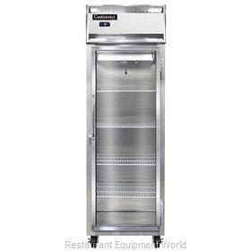 Continental Refrigerator 1FS-GD Freezer, Reach-In