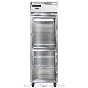 Continental Refrigerator 1FS-SS-GD-HD Freezer, Reach-In
