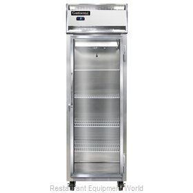 Continental Refrigerator 1FS-SS-GD Freezer, Reach-In