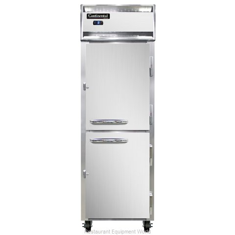 Continental Refrigerator 1FS-SS-HD Freezer, Reach-In (Magnified)