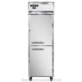 Continental Refrigerator 1FS-SS-HD Freezer, Reach-In