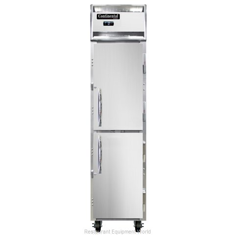Continental Refrigerator 1FSE-SS-HD Freezer, Reach-In (Magnified)