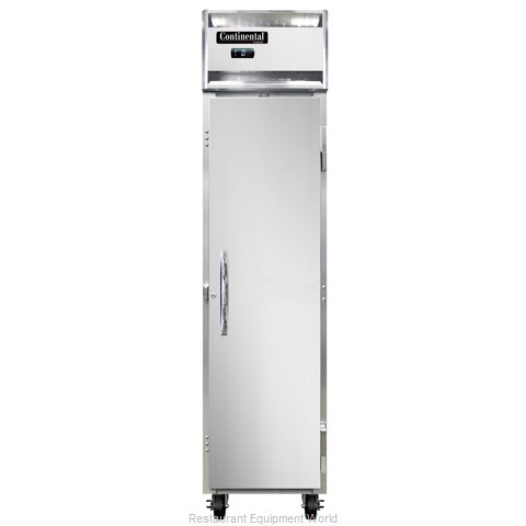 Continental Refrigerator 1FSE-SS Freezer, Reach-In